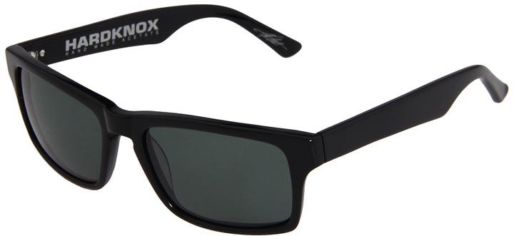 Electric Eyewear Hardknox (Loveless Collection) (Gloss Black/Grey) - Eyewear