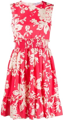 RED Valentino Floral-Print Cotton Dress