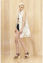 Milly Diamond Fil Coupe Shirtdress
