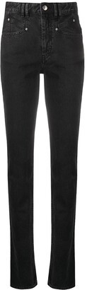 Isabel Marant High-Rise Skinny-Fit Jeans