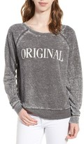 Junk Food Clothing Women's Original Burnout Sweatshirt