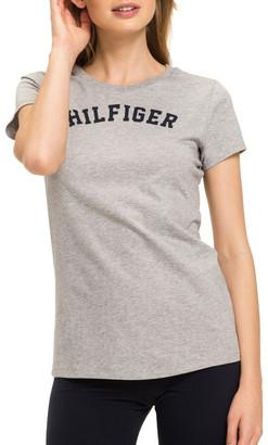 Tommy Hilfiger Cotton Iconic Logo Short Sleeve Tee