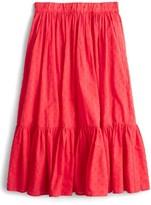J.Crew Women's Baluster Clip Dot Skirt