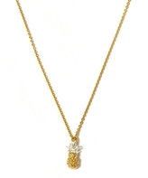 Alex Monroe Gold-Plated Baby Pineapple Necklace