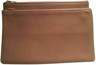 Celine Camel Leather Clutch bags