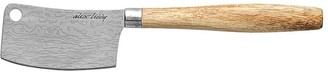 Alex Liddy Slate & Co Cleaver Cheese Knife Acacia 20cm
