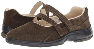 Propet Twilight (Wine Suede) Women's Shoes