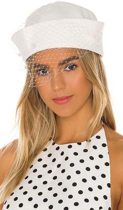 Marianna SENCHINA Sailor Hat With Veiling
