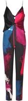Diane von Furstenberg Rylen Printed Stretch-silk Jumpsuit