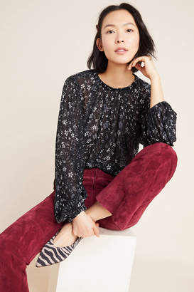Cloth & Stone Balloon-Sleeved Blouse
