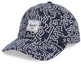 Herschel Men's Sylas Keith Haring Baseball Cap - Blue