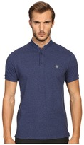 The Kooples Sport Classic Officer Collar Polo Men's Short Sleeve Pullover