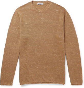 Inis Meáin Donegal Linen and Silk-Blend Sweater - Men