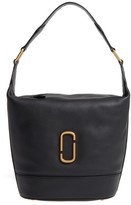 Marc Jacobs Noho Leather Hobo - Black