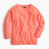 J.Crew Girls' cashmere pocket sweater
