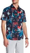 Billabong Sundays Floral Short Sleeve Tailored Fit Shirt