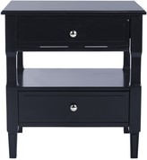 The Well Appointed House Navy Two Drawer Night Stand
