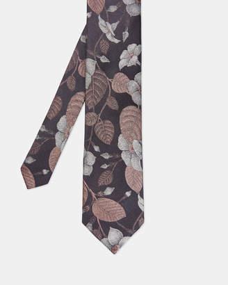 Ted Baker FLURO Floral silk tie