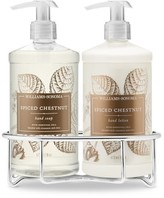 Williams-Sonoma Williams Sonoma Spiced Chestnut Hand Soap & Hand Lotion, Classic 3-Piece Set
