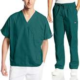 Cherokee Mens Workwear Scrub Set Medical/Dentist Uniform V-neck Top & Cargo Pant