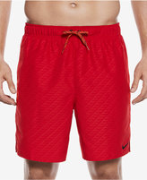 "Nike Men's Embossed Volley Swim Trunks,7"""