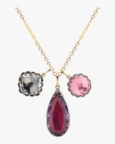 Larkspur & Hawk Lady Emily Triple Cluster Charm Necklace