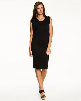 Le Château Jersey Crew Neck Tunic Dress