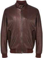 Z Zegna zip-up bomber jacket