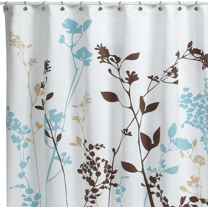 Bed Bath & Beyond Reflections Floral Fabric Shower Curtain
