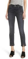 7 For All Mankind Women's Split Hem Ankle Skinny Jeans