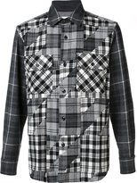 Comme des Garcons checked shirt - men - Nylon/Wool - S