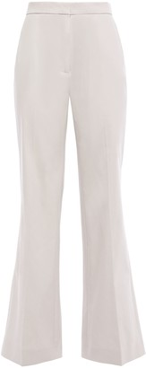 ALEXACHUNG Cotton-blend Drill Flared Pants