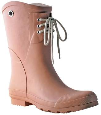 Kelly B. Nomad Footwear Lace-Up Waterproof Rain Boot