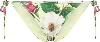 Dolce & Gabbana Floral Print Bikini Bottoms