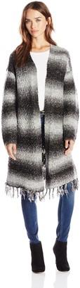 Design History Women's Sweater Coat