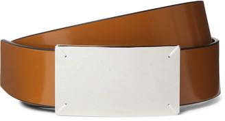 Maison Margiela 3.5cm Reversible Leather Belt