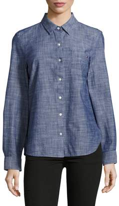 Tommy Hilfiger Chambray Roll-Tab Shirt