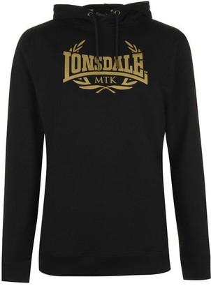 Lonsdale London MTK Pro Range Hoodie Mens