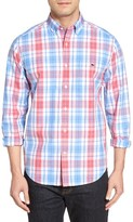 Vineyard Vines Men's Pleasant Valley Slim Fit Plaid Sport Shirt