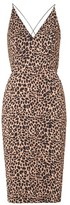 Topshop Animal Print Bodycon Dress
