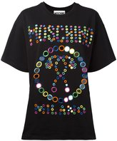 Moschino embroidered logo T-shirt - women - Cotton - M