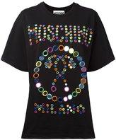 Moschino embroidered logo T-shirt - women - Cotton - XXS