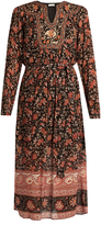Masscob Floral-print long-sleeve dress