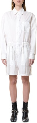 Maison Margiela White Shirt Style Playsuit