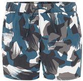 Topman Camouflage Swim Shorts