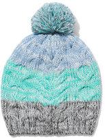 New York & Co. Ombré Stripe Marled Hat