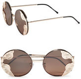 Spitfire 53mm Textured Round Sunglasses