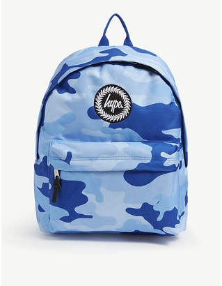 Hype Camo canvas backpack
