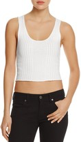 Frame Ribbed Tank Top