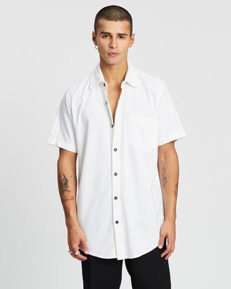 The People Vs. Stevie Linen-Blend Shirt